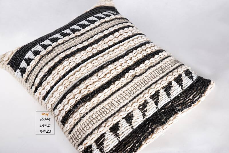 Cushion cover Luxe 50X50 Black