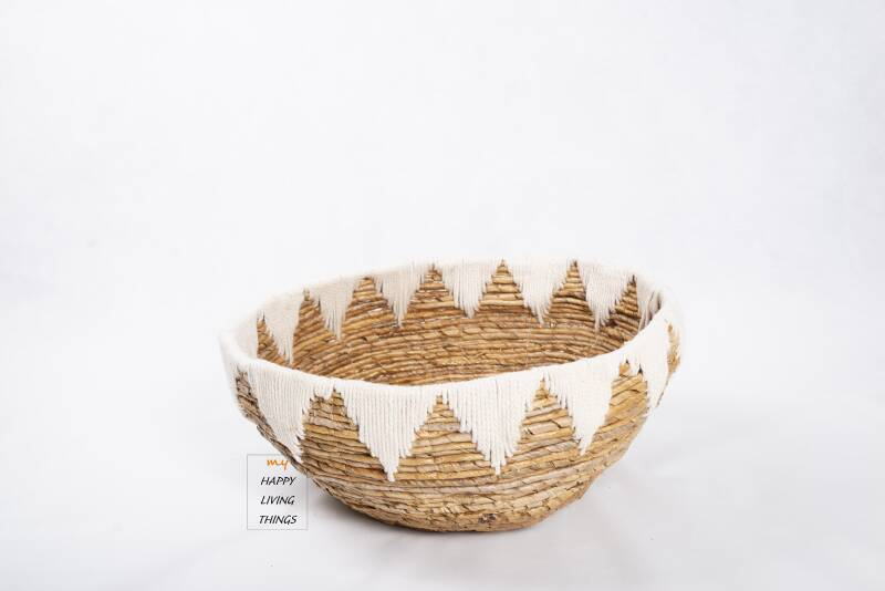 Banana Basket with white top