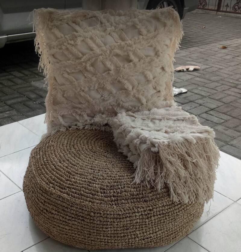 Cushion cover blank/natural 3