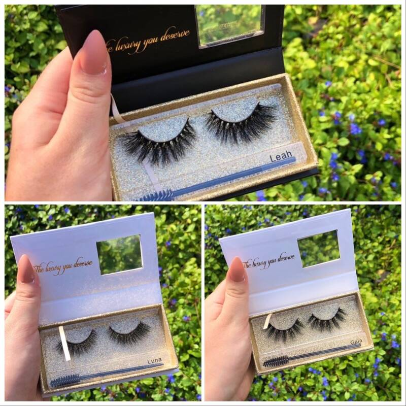 3 pair lashes of choice!