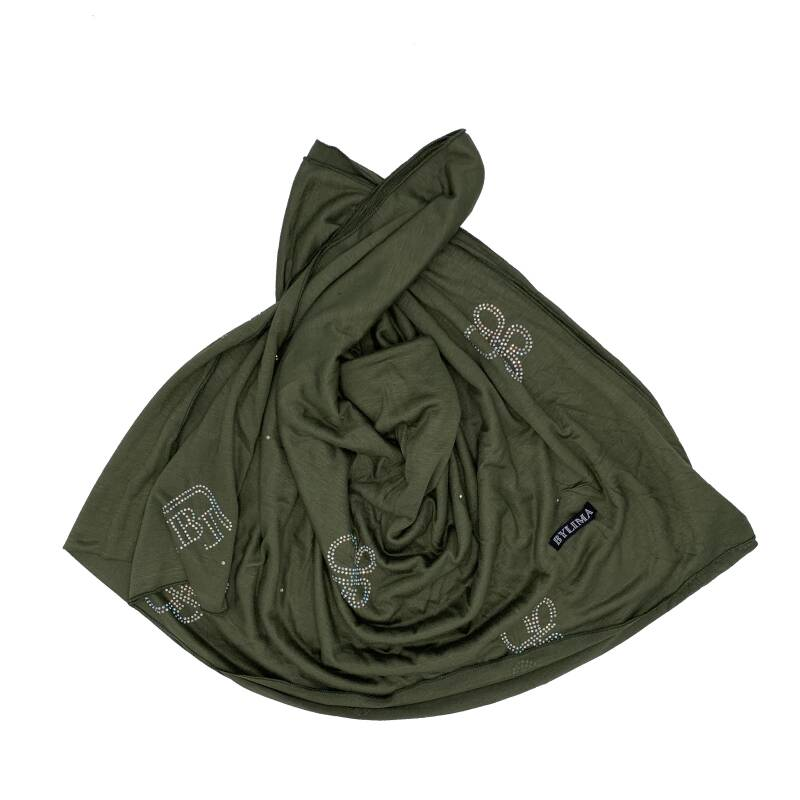 Bylima 3d butterfly military green ss19