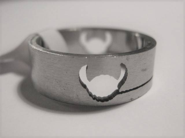 [13018]  Ring stainless steel (maat 18)