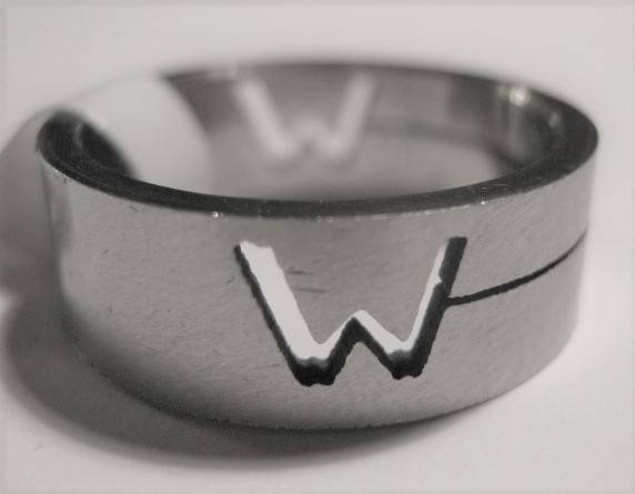 [13026]  Ring stainless steel (maat 18)