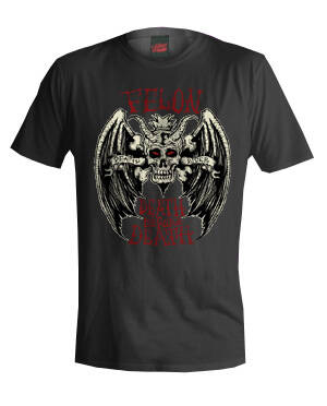 [29101]  Zwart t-shirt van Felon Clothing