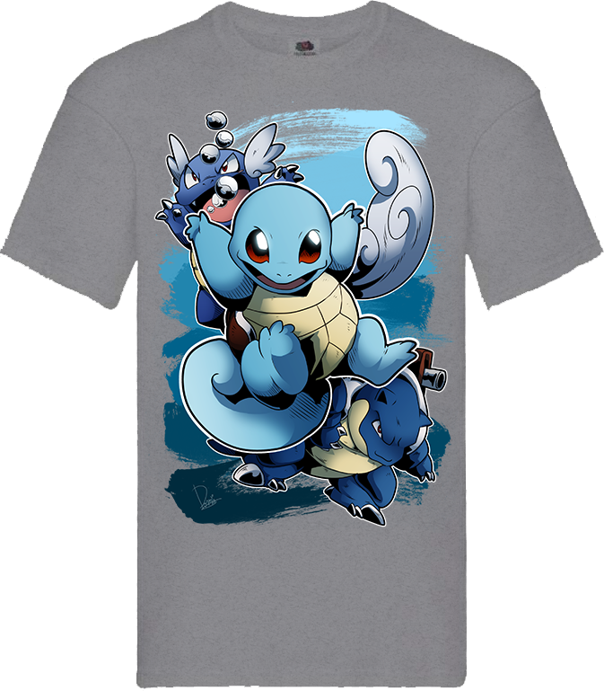 T shirt Squirtle