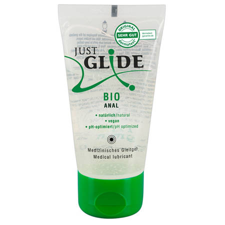 Just Glide Bio Anaal Glijmiddel - 50 ml