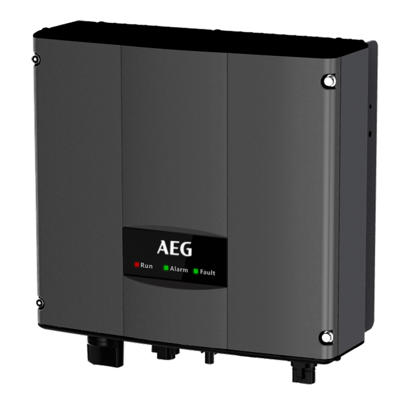 AEG AS-4600, 1-Fase, 1-MPPT, incl. Wifi en DC schakelaar