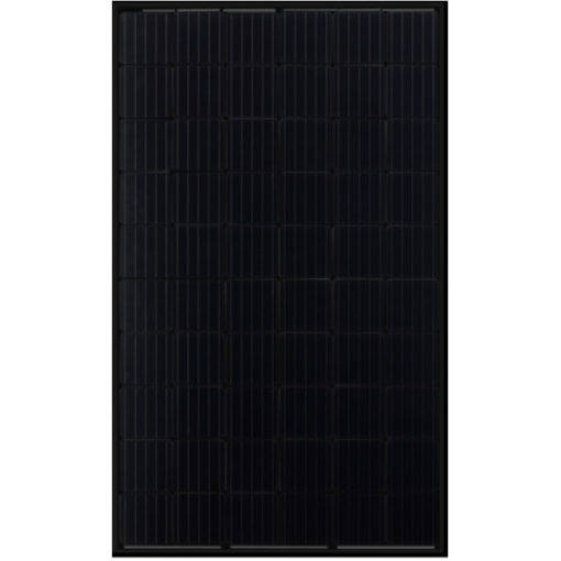 10X Jinko 315Wp full-black, Omvormer Growatt 3600MTL-S, Solar kabels met vaste connectoren..