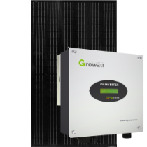 8 zonnepanelen 320 Wp mono all-black pakket