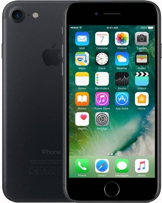iPhone 7 32GB Mat Zwart