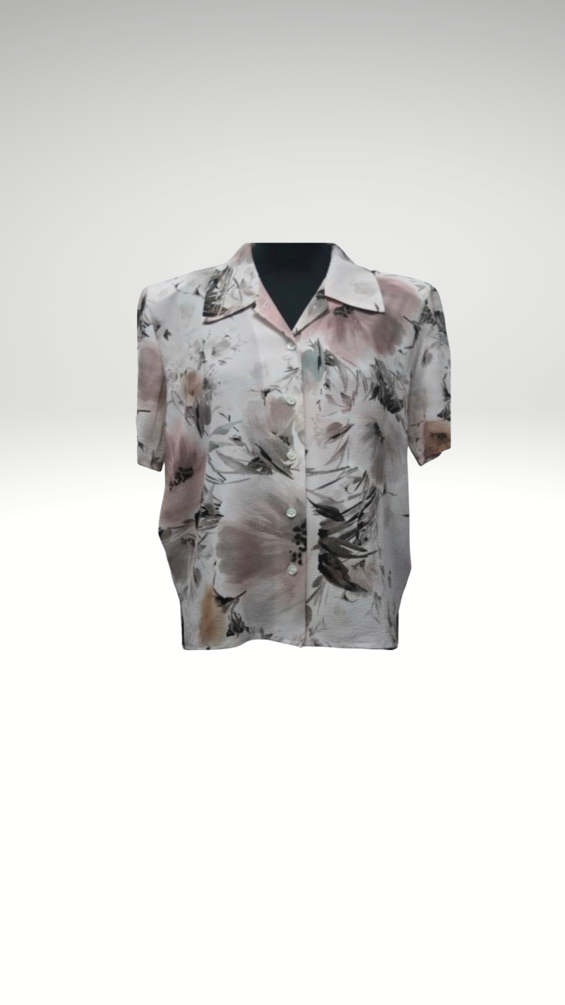 MG Blouses/print/ roze-taupe