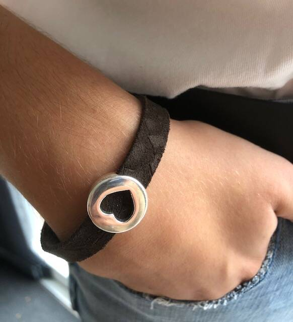 Armband 'reptiel'