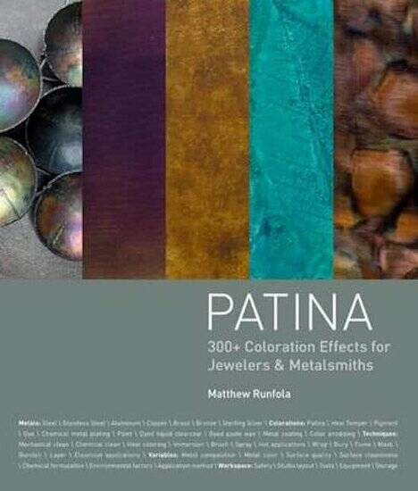 Engelstalig boek - Patina 300+ Coloration Effects for Jewelers & Metalsmiths