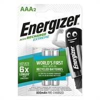 Energizer - Recharge Extreme 2 x AAA 800 MAH