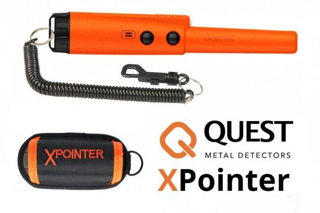 Quest XPointer pinpointer oranje