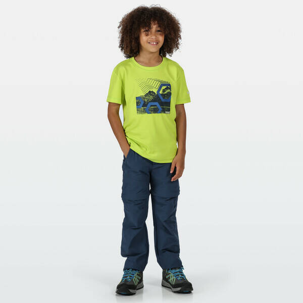 Regatta - Youngsters active Hikefell stretch zip-off trousers