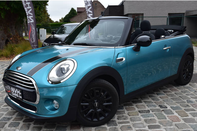 MINI Cooper D Cabrio !!! Automaat !!!PDC, LED, GPS, Bluetooth,... !!!