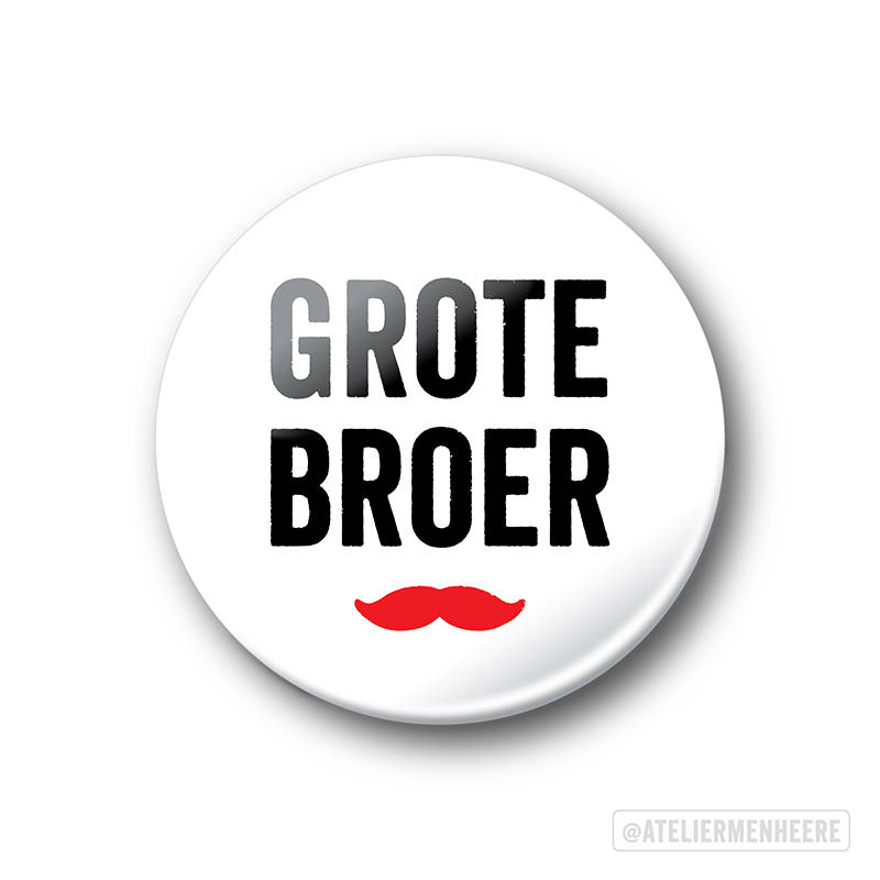 Grote Broer Button