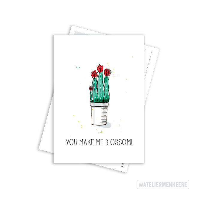You make me blossom!