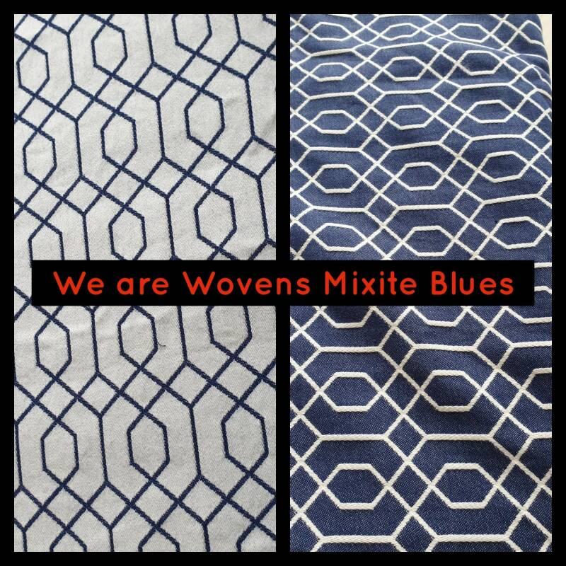 Sjaal We are Wovens Mixite Blues