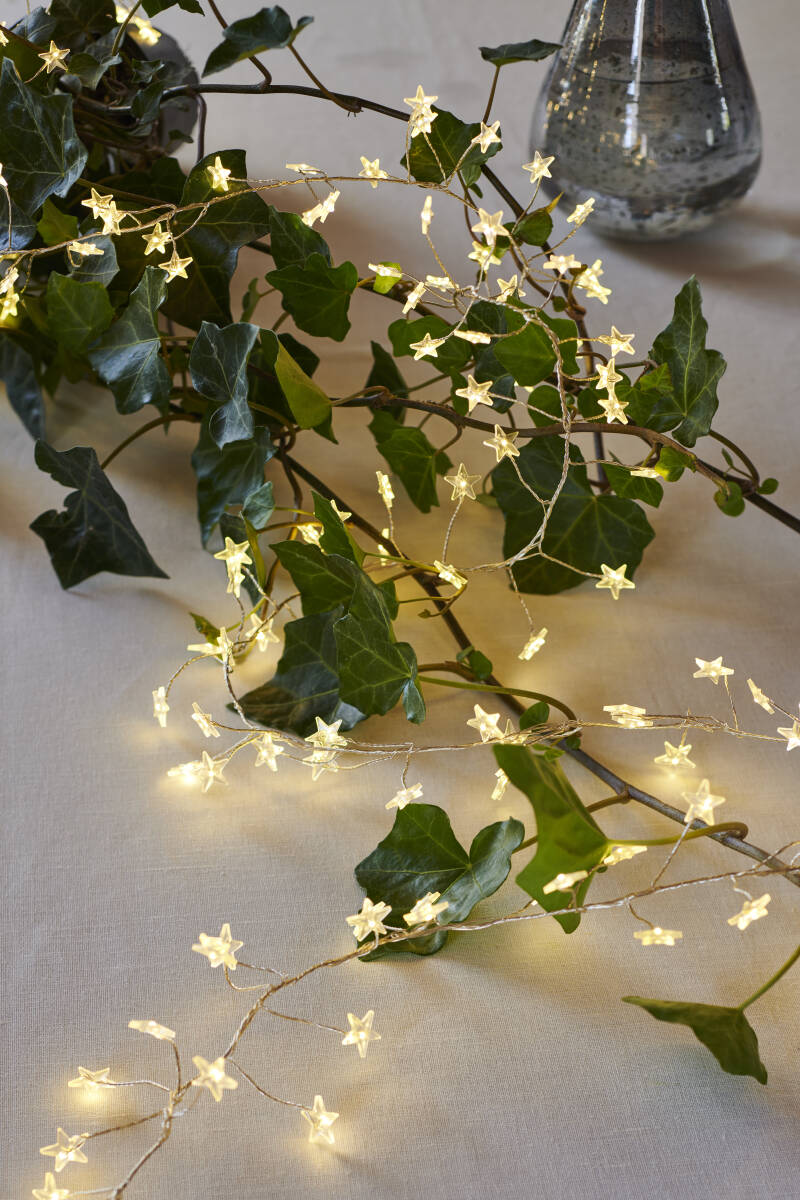 Trille Cluster - 160 Star Led lights - Clear/Silver - Sirius - 30800