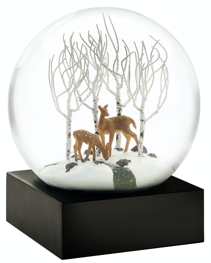 Deer in Woods - Snow Globes