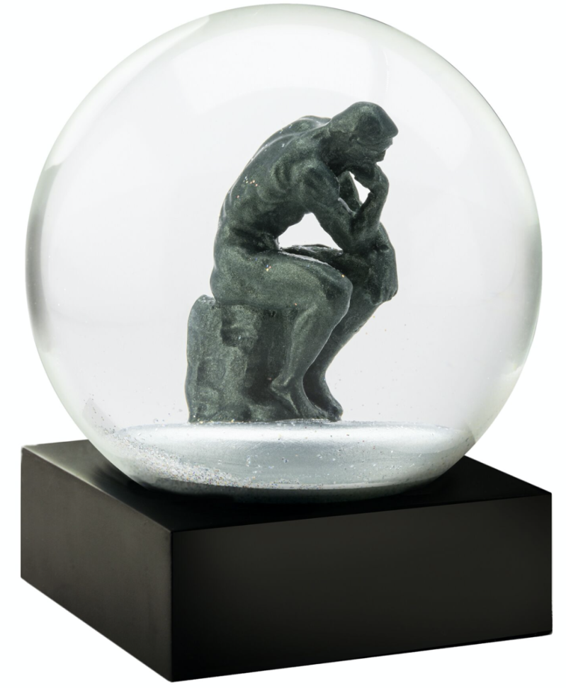 The Thinker - Snow Globes