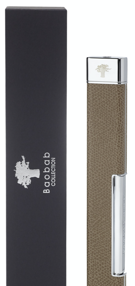 Aansteker - Lighter - Leather - Taupe - Baobab Collection