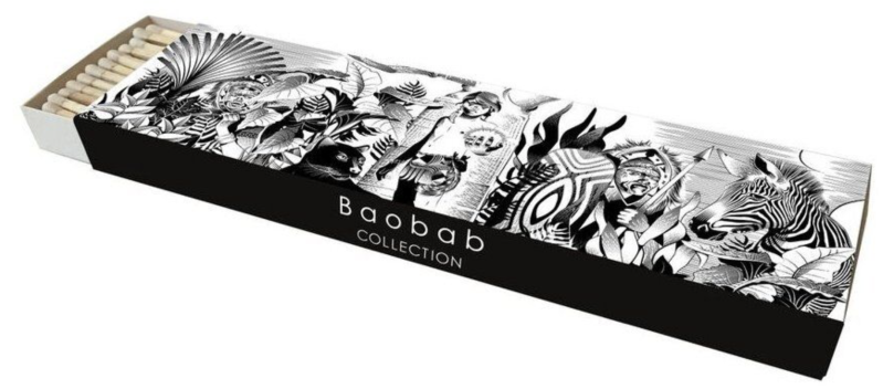 Lucifers - Matches - Baobab Collection - Feathers