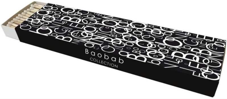 Lucifers - Matches - Letters - Baobab Collection