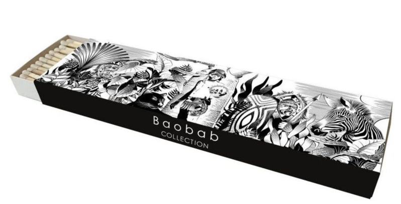 Lucifers - Matches - Feathers - Baobab Collection