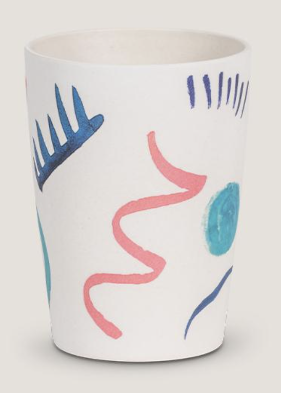 Urban Nature Culture - Drinkbeker in bamboo - Abstrato