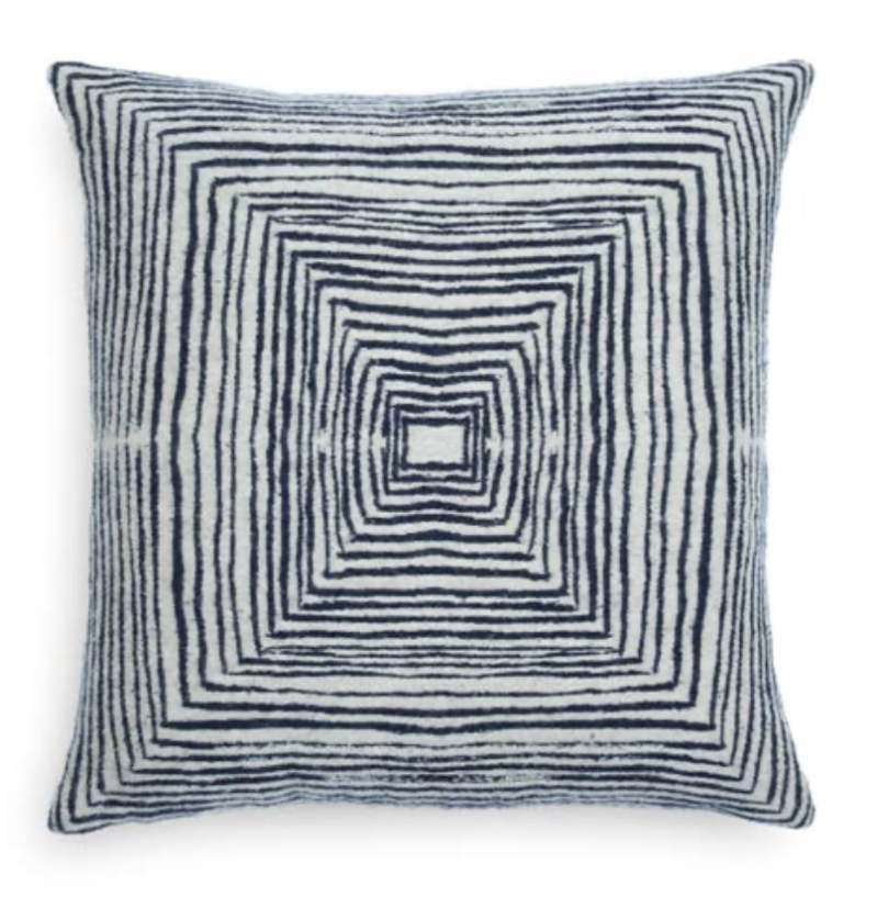 Cushion - White Linear Square - Ethnicraft