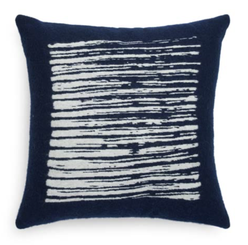 Cushion - Navy Lines - Ethnicraft