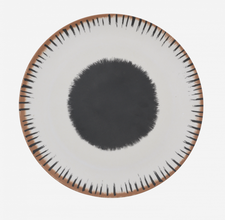 Diner Plate Bamboo 25 cm - Vibration A - Urban Nature Culture