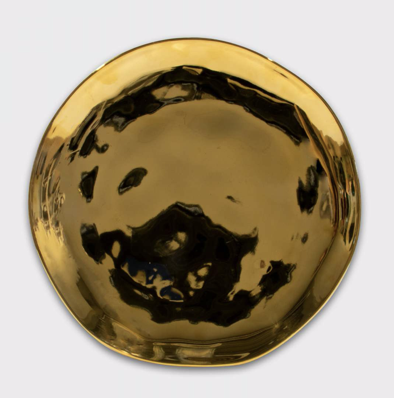 Good Morning Plate - Gold - Urban Nature Culture