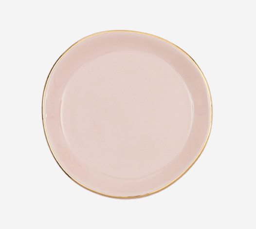 Plate - Small - Good Morning - Old Pink - 105246 - Urban Nature Culture