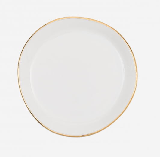 Plate - Small - Good Morning - White - 105249 - Urban Nature Culture