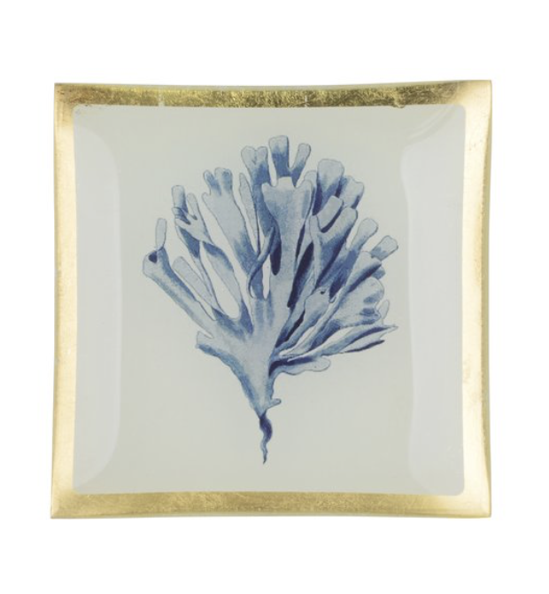 Love plates - Coral - Smal - Wit/Blauw - 78320