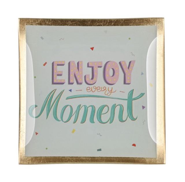 Love Plates - Enjoy Every Moment - Small - 1043603037