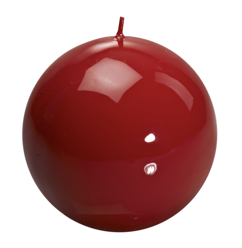 Candle - Graziani - Meloria Ball - 150 classic - Red - MES3C