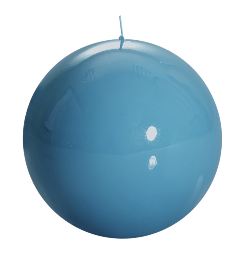 Candle - Graziani - Meloria Ball - 150 classic - Turquoise - MES3C