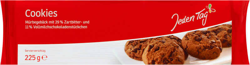 Jeden Tag Cookies 225g