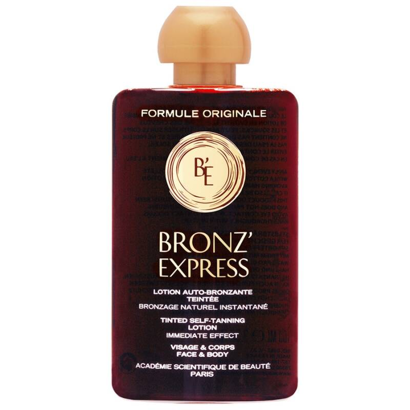 Bronz'Express Tinted Self-Tanning Lotion Intense