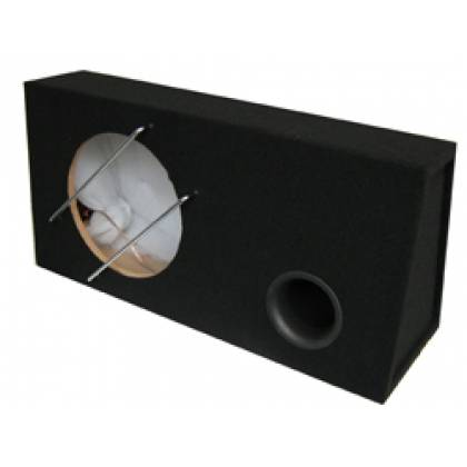 12 inch / 30cm Bassreflex box with 48 liter