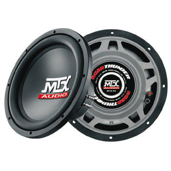 MTX RT12-44 Roadthunder 12' Subwoofer dual 4 Ohm