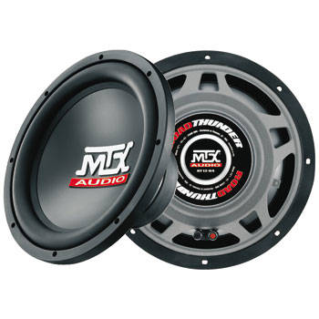 MTX RT12-04 Roadthunder 12' Subwoofer 4ohm
