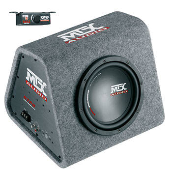 MTX RTP8 Roadthunder 8'' powered encl.120W rms  ACTIVE