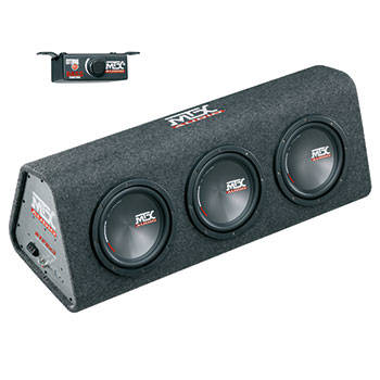 MTX RTP8x3 Roadthunder 3x8' powered encl. 360W rms ACTIVE SUB