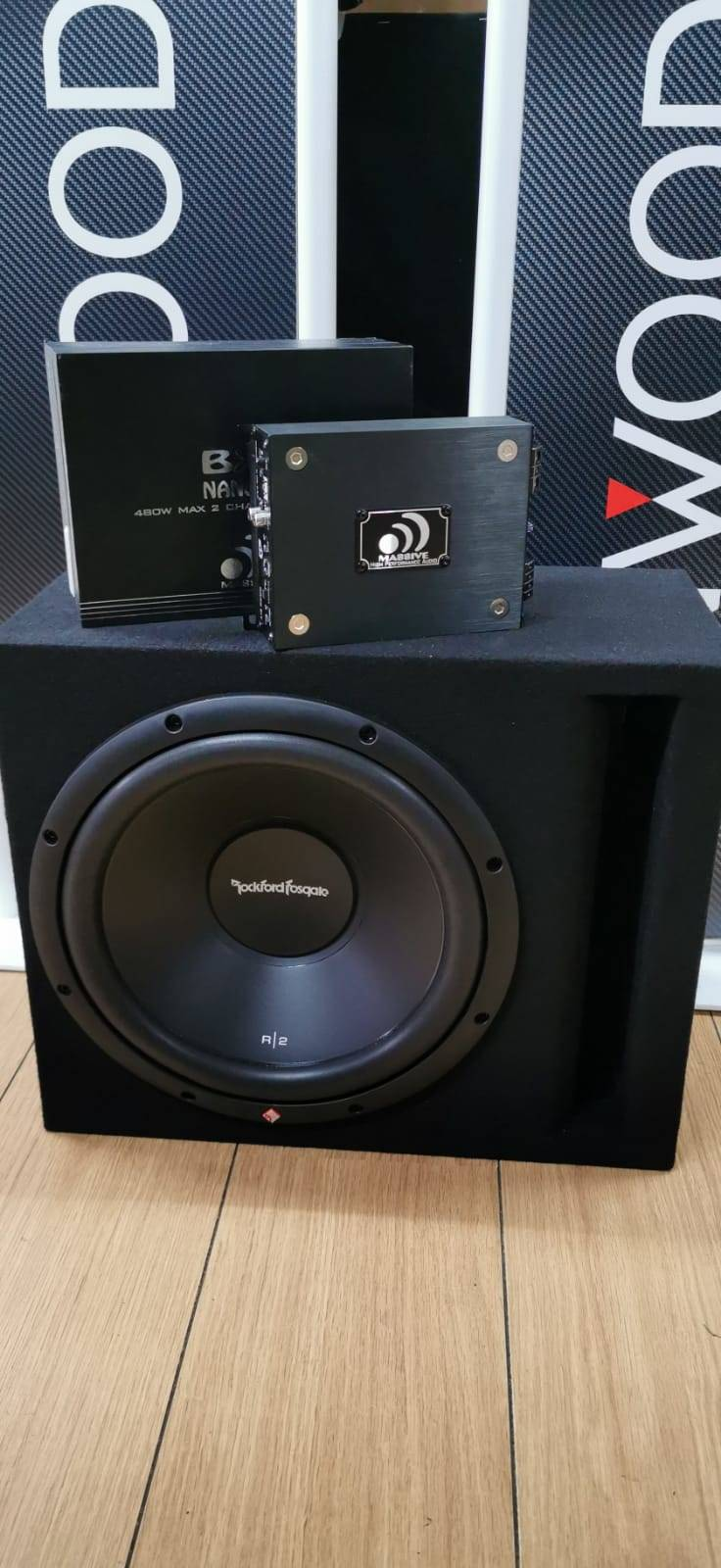 Subwoofer pack Rockford